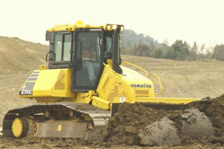 Komatsu to show intelligent bulldozers at CONEXPO