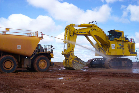 Komatsu plagued by West Africa website scam