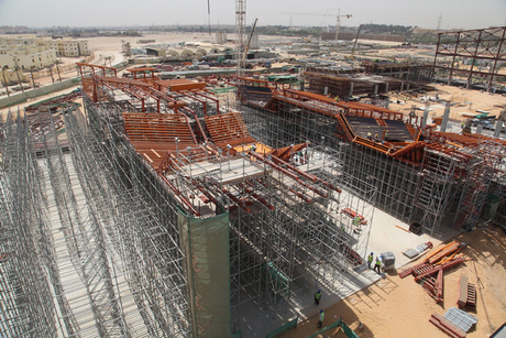 November finish for Mall of Egypt concrete works
