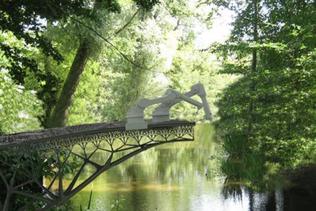 Dutch robots to print seamless steel bridge