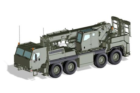 Liebherr develops armoured crane for German Army
