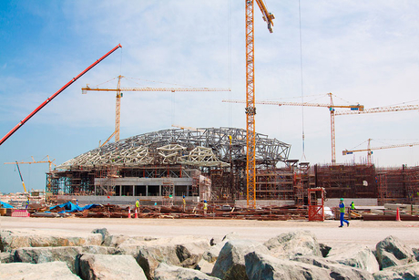 Louvre dome on schedule for September completion