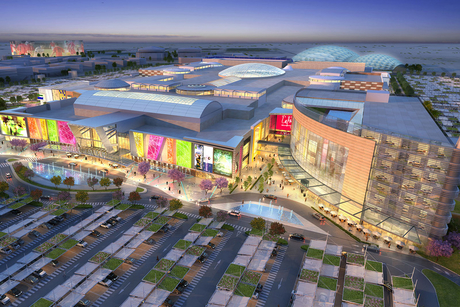 Q4 for Mall of Qatar opening
