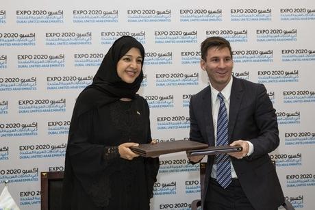 Lionel Messi appointed Dubai Expo 2020 ambassador