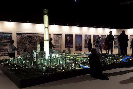 Video: Meydan One scale model