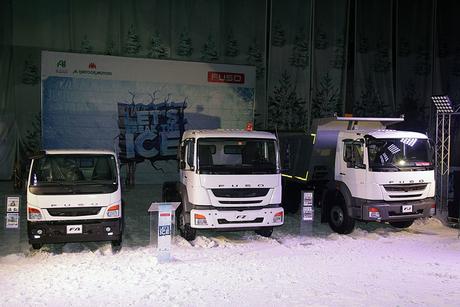 Al Habtoor launches Mitsubishi Fuso units for UAE