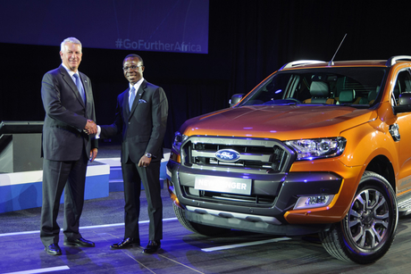 Ford Ranger pickup to be assembled in Nigeria