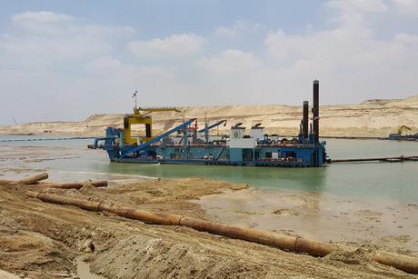 Egypt: Ericsson eyes New Suez Canal excavation job