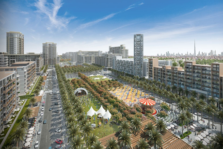 Town Square unveils first residential apartments