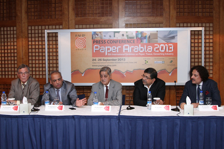 Middle East used 20 million tons of paper in 2012