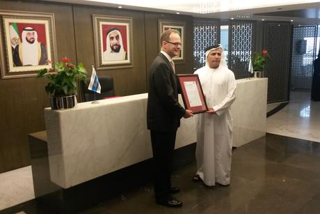 British Ambassador presents ISO certificate to RTA