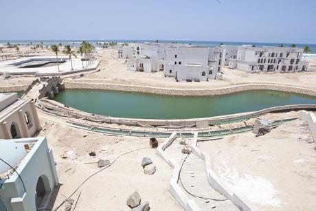 Work on third Salalah Beach hotel resort underway