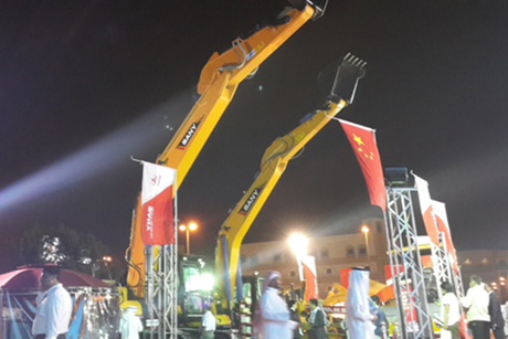 Sany courts new business at The Big 5 Saudi 2014