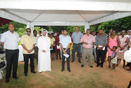 ADFD breaks ground $9m Seychelles housing project