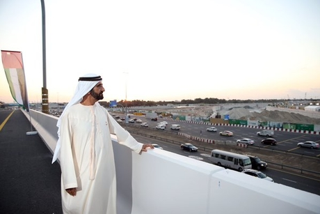 Video: Dubai Ruler inspects Dubai Canal progress