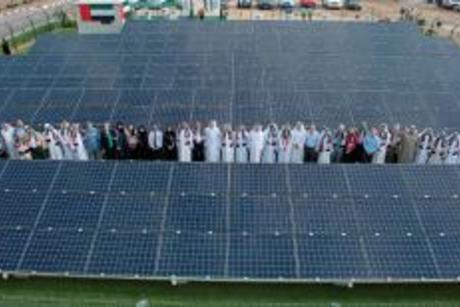 EGA unveils mini solar field in Dubai
