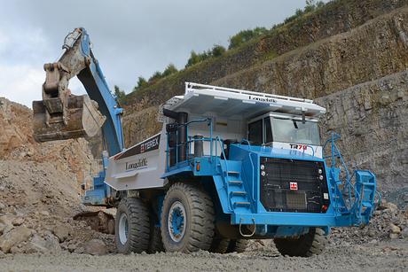 Terex to demo 70t rigid hauler at Hillhead 2014