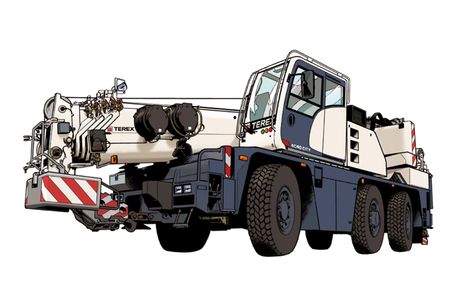 Terex uses comic to draw attention to crane range