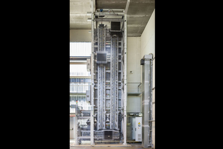 Scale model of first rope-free elevator unveiled