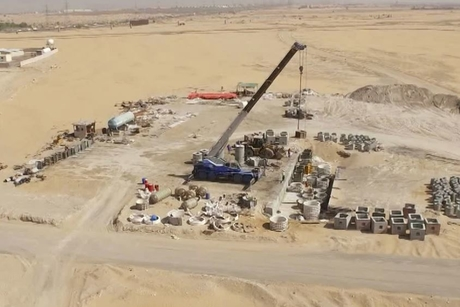 Video: Construction work at UAE's $653m Tilal City