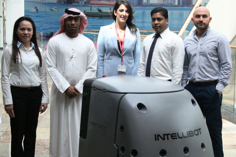Transguard trials robotic cleaners at DFC