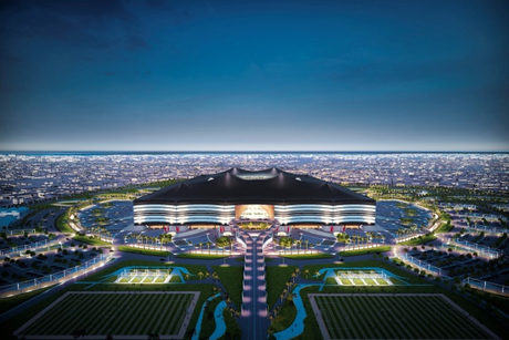 New workers accommodation at Al Bayt Stadium site