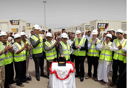 Record breaking Yemeni power project inaugurated