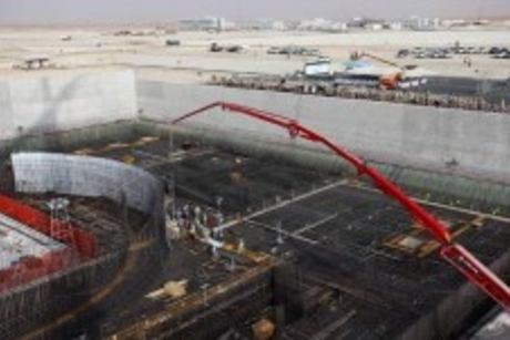 UAE's first nuclear reactor over halfway complete