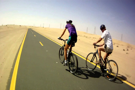 RTA says Dubai's 23km cycling track 70% complete