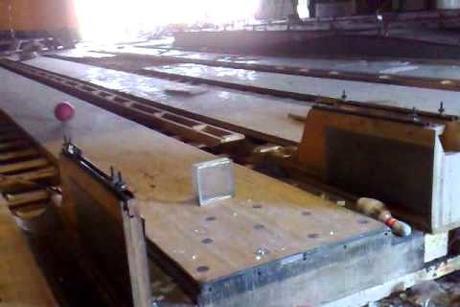Demolition of Qatar Bowling Centre for Doha Metro