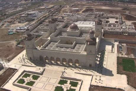 Karcher installs gantry car wash at Jordan palace