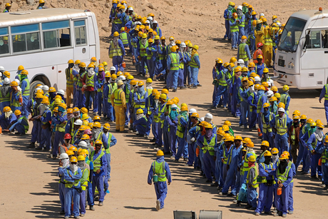 Oil price drives Saudi BinLadin to cut 15,000 jobs