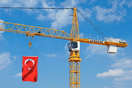 Liebherr receives largest ever tower crane order
