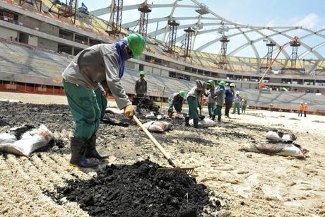 Qatar undergoing huge demand for land development