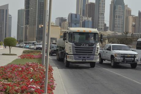 Works to alleviate traffic on Corniche Street