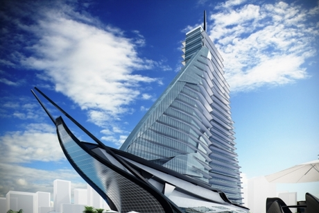 Saudi firm funding boat-shaped hospital project