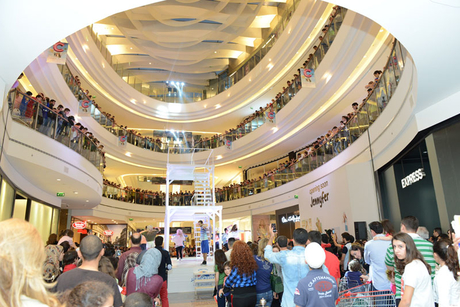 MAF's new Beirut mall achieves footfall record