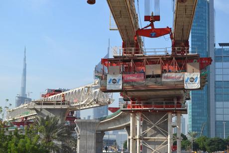 RTA Trade Centre bridge project progress at 68%