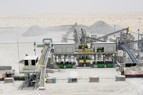 Recycled aggregates use set to grow