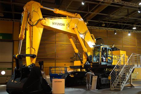 Hyundai launches its largest-ever excavator