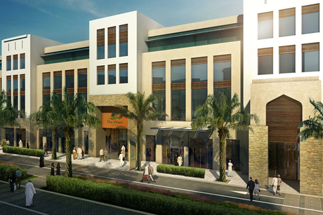 Work begins on retail centre at The Wave