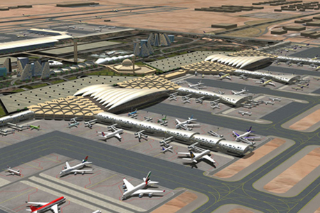 An expanded Riyadh airport to treble capacity