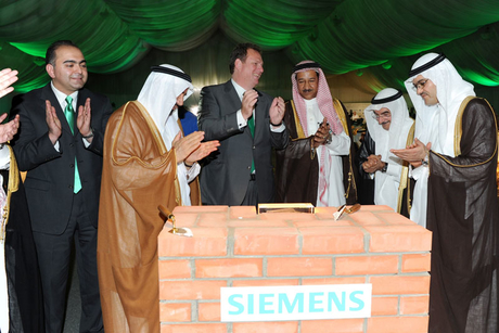 Siemens making hay while sun shines in Middle East