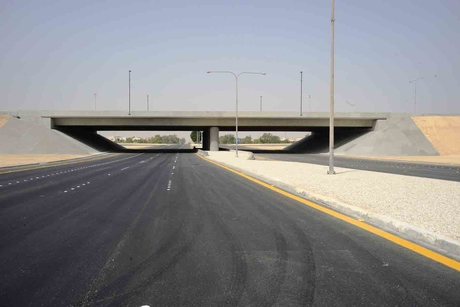 Jubail intersection signed off