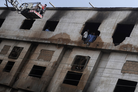Pakistan factory fires kill over 300 people