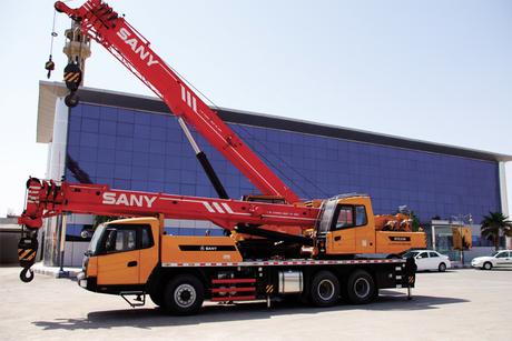 Kingdom calling for Sany Mobile Cranes