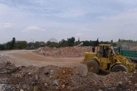 Excavation works started on Taj Halab in Syria