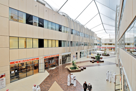 Site Visit: Zayed University, AUH