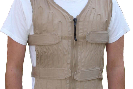 Workers can beat the heat with 'cooling vest'