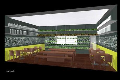 Unique design features for new Kuwait restaurant